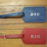 Luggage-tags-with-silver-foil-stamped-initials